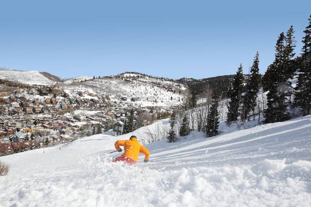 With a single lift ticket or multiday pass, visitors to the Park City Mountain Resort can access nearly 3,000 hectares of skiable terrain.