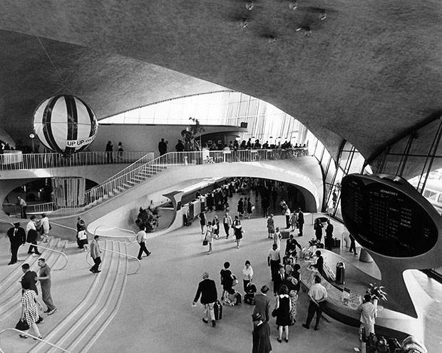 Eero Saarinen's TWA Terminal embodied the optimism of the jet age when it opened in 1962.