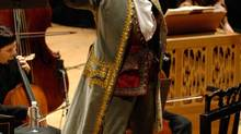 Sing-Along Messiah at Massey Hall with Ivars Taurins as Handel. (Gary Beechey)