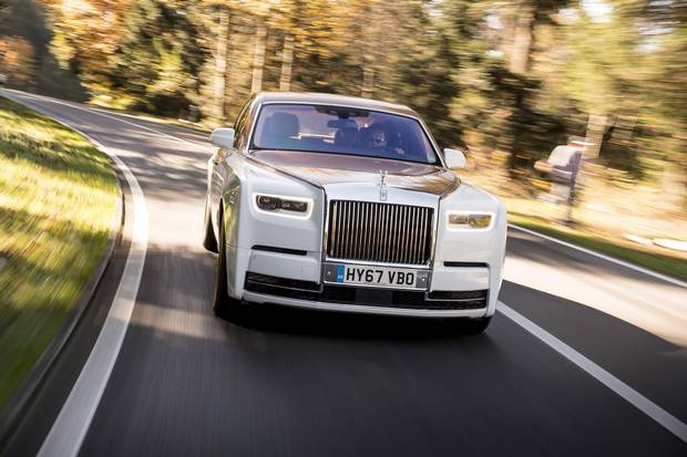 Rolls-Royce Phantom VIII launch, Switzerland, October 2017