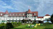 The Tudor-style Agonquin Hotel recalls an old world seaside resort. (Joe Kalmek for The Globe and Mail)