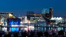 Baltimore's Inner Harbor/downtown neighbourhood now borders on glitzy. (Thinkstock)