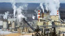 A Canfor pulp and paper mill in Prince George, B.C. (Dave Milne)