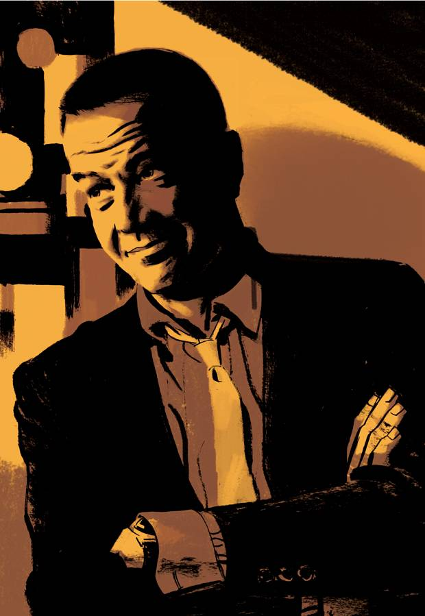 A self-portrait of Darwyn Cooke: He had a vision of superheroes as our best selves.