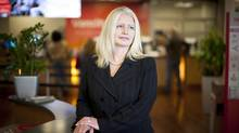 Tamara Vrooman, President and CEO of Vancity Savings Credit Union, is photographed at a Vancity branch in Vancouver, British Columbia, Monday, May 5, 2014. (Rafal Gerszak for The Globe and Mail)