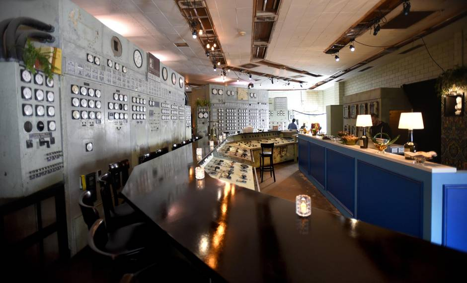 Industrial Le toronto s le pavillon is a post industrial pop up with panache the
