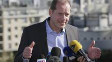 Tour de France director Christian Prudhomme (PHILIPPE WOJAZER/Reuters)