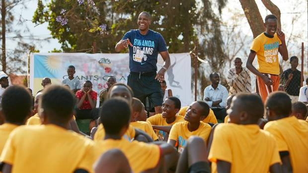 Masai Ujiri, general manager of the NBA's Toronto Raptors, developed the idea for an African kids' basketball camp with a childhood friend from Nigeria after their modest pro careers had wound down.