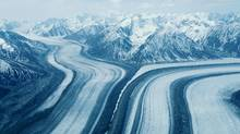 Valley roads in winter, Yukon, Canada (Photos.com)