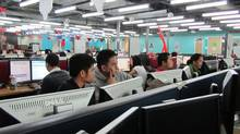 A Telus call centre in a Manila mall. The Philippines has overtaken India as the world's No. 1 call centre outsourcing country. (Andy Hoffman/The Globe and Mail/Andy Hoffman/The Globe and Mail)