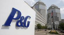 This file photo, shows the Procter & Gamble Co. headquarters building in Cincinnati. (Al Behrman/THE ASSOCIATED PRESS)
