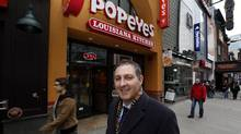 Tough Canadian laws might deter U.S. franchisors looking to head north, says lawyer Larry Weinberg, whose firm represents fast-food chain Popeyes in Canada. Weinberg is seen here Dec. 13, 2011 in Toronto. (Deborah Baic/The Globe and Mail/Deborah Baic/The Globe and Mail)