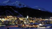 The European skiers have once again checked into the hotels of this small Swiss village, replacing the attendees of the Annual Meeting of the World Economic Forum. (ARND WIEGMANN/REUTERS)