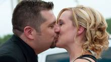 Shawn Lippert, suprised his bride, Colleen, with an August wedding in Tecumseh, Ont.
