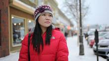 Ruthcelie Diala, shown in Whitehorse on Nov. 27, 2013, came to the Yukon capital from the Philippines in 2009 under the Yukon Nominee Program, which fast-tracks foreign workers for permanent residency and citizenship. (IAN STEWART FOR THE GLOBE AND MAIL)