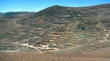 Chile's El Morro copper-and-gold deposit could hold more than three times the amount of gold that Goldcorp produced last year. (BARRICK GOLD/BARRICK GOLD)
