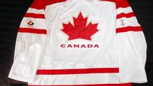Jersey with the Hockey Canada logo. (Handout)