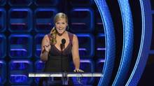 Amy Schumer described her show as dark, but not mean-spirited.' (Phil McCarten/REUTERS)