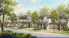 The Village at Traditions, Milton, Ont. By Heathwood Homes.