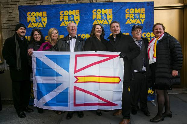 Newfoundlanders came from afar to take in the Broadway opening night of Come From Away.