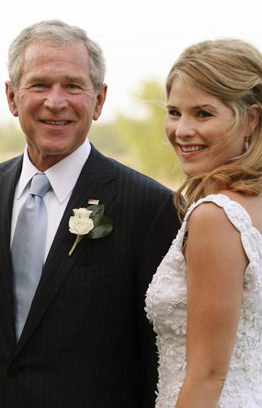 The first media reports on this former First Daughter's pregnancy hit the Internet in early December, just in time for the holidays. 'This is the one gift they've been bothering me about,' Jenna Bush told Access Hollywood. We wonder what will end up being the more demanding job for George W. Bush: president or granddaddy? (Shealah Craighead/AP)