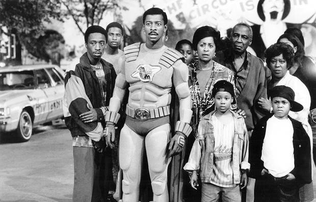 Robert Townsend wrote, directed and starred as The Meteor Man.
