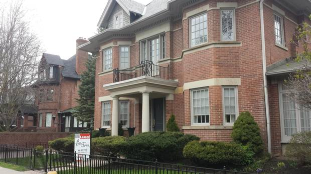 A leased home 62 Elm Ave. A declining number of listings could make leasing as competitive as buying.