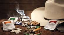 Philip Morris smokeless tobacco products and Marlboro cigarettes. (TONY CENICOLA/NYT)