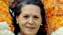 Sonia Gandhi is president of the All India Natonal Congress, largest bloc in the coalition government. (AP/AP)
