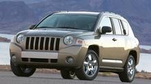 2007 Jeep Compass Credit: Chrysler