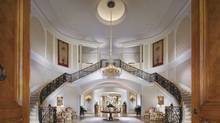 A view of the interior of the 57,000-square-foot mansion owned by late TV producer Aaron Spelling in Los Angeles, which was listed at an asking price of $150-million. (HO/REUTERS)
