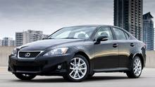 2012 Lexus IS 250 AWD (Toyota)
