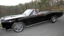 Matt and his 1967 Pontiac GTO. (Peter Cheney/The Globe and Mail)