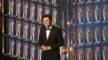 Oscar host Seth MacFarlane speaks on stage at the 85th Academy Awards in Hollywood, California, February 24, 2013. (MARIO ANZUONI/REUTERS)