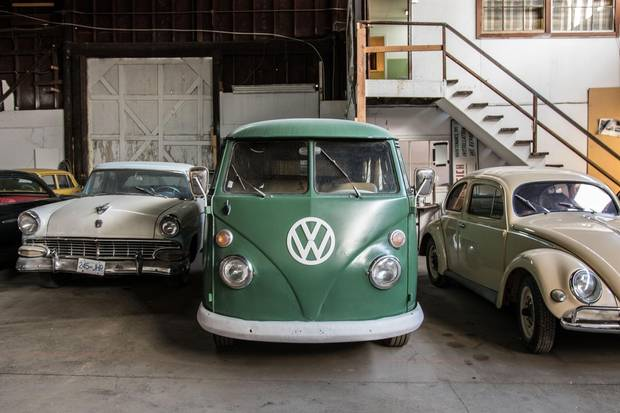 Volkswagens are, of course, a mainstay of the German-occupied areas portrayed in the Amazon production The Man In The High Castle. This VW Type 2 was carefully hand-hammered back into shape, but not fully restored, for a film-friendly weathered look.
