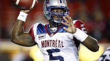 Montreal Alouettes quarterback Adrian McPherson (Jeff McIntosh/The Canadian Press)