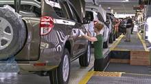Toyota Rav4 production at the firm's Woodstock, Ont., plant. The flooding in Thailand and the earthquake and tsunami in Japan have cut into Ontario's lead over Michigan as top auto producer in Canada or the U.S. (Toyota/Toyota)