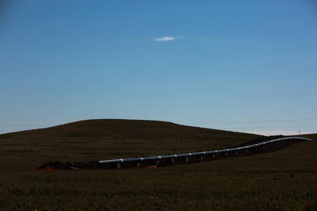 The pipeline, if completed, will be approximately 1,900 kilometres, and pass under the Missouri River.