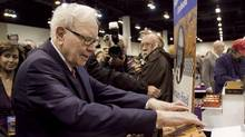 Warren Buffett. (Nati Harnik/Nati Harnik/The Associated Press)