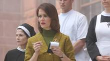 Sarah Paulson in Season 2 of American Horror Story: The action moves to an asylum for the criminally insane, circa 1964. (Michael Yarish/FX)