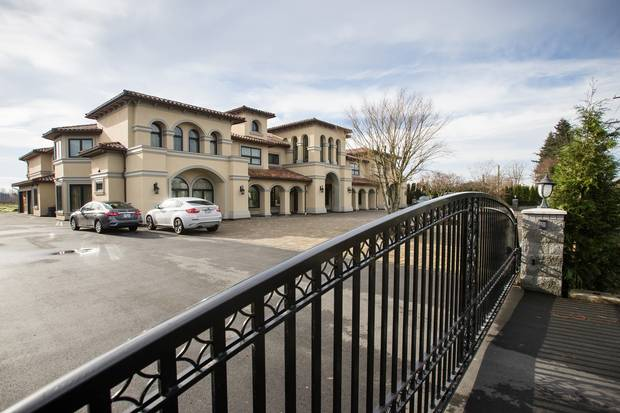 One of investor Guo Tai Shi's two mansions in Richmond. Wendy Liang, who runs Mr. Shi's travel agency, says she plans to market the luxury accommodations next summer to visitors from China.