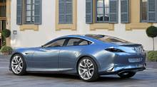 Ikuo Maeda, head of design at Mazda, said the Shinari sports coupe - and all so-called Kodo vehicles - looks ready to leap at any second, as in a sudden release of pent-up energy. (Mazda)