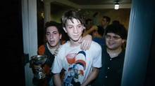 "Screen grab from the online trailer for the film ""Project X,"" starring a bunch of unknown teen actors"