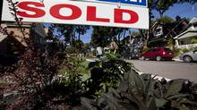 The Toronto area has seen a 30 per cent increase in home sales over the past year. (Deborah Baic/The Globe and Mail)