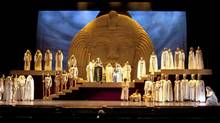 """A scene from """"Aida"""" at the Vancouver Opera (Handout)"""
