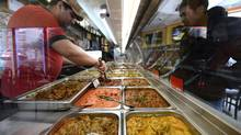 King Place's food shows a laser focus on flavour. (Fred Lum/The Globe and Mail)