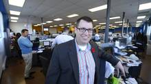Simon Rodrigue, VP and GM of Walmart Canada Corp. in the Mississauga office where the Wal-Mart e-commerce team works. (Fred Lum/The Globe and Mail)