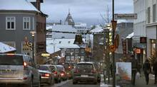 Downtown Reykjavik is seen in this file photo. Iceland ranks first in a new study of gender equality. (SETH KUGEL/NYT)