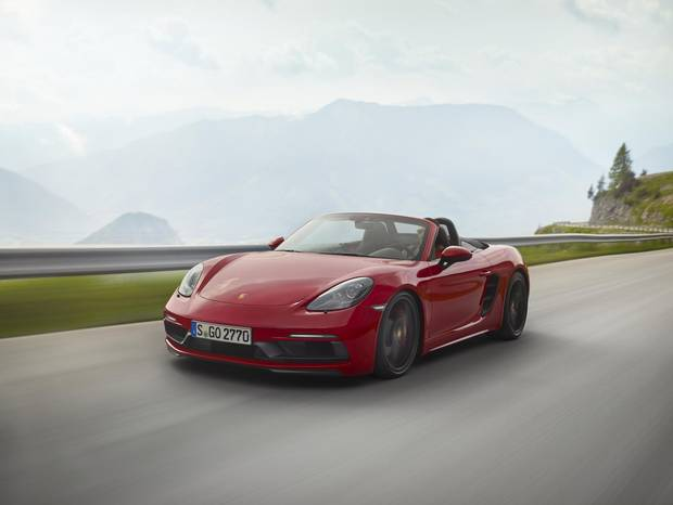 The 2018 Porsche Boxster is one of several new, more powerful models in the auto maker's 718 GTS lineup, each coming with a dizzying array of options for looks, convenience and performance.