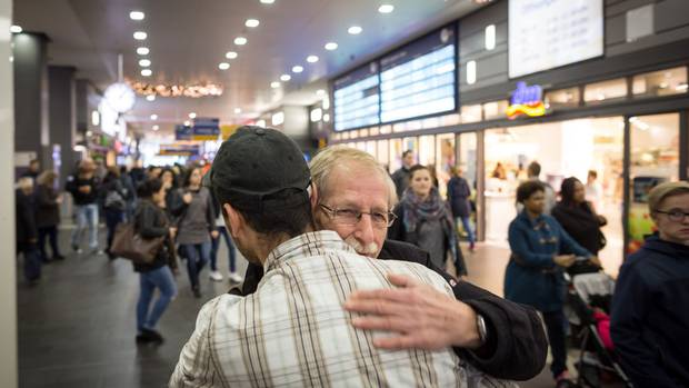 On the last day of October, Mr. Allak was transferred to another city about 100 kilometres away, where he was officially registered as an asylum seeker. Mr. Saschowa, meanwhile, has pledged to go help Mr. Allak wherever he ends up.